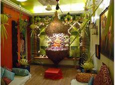 simple home decoration for ganpati festival grabimage