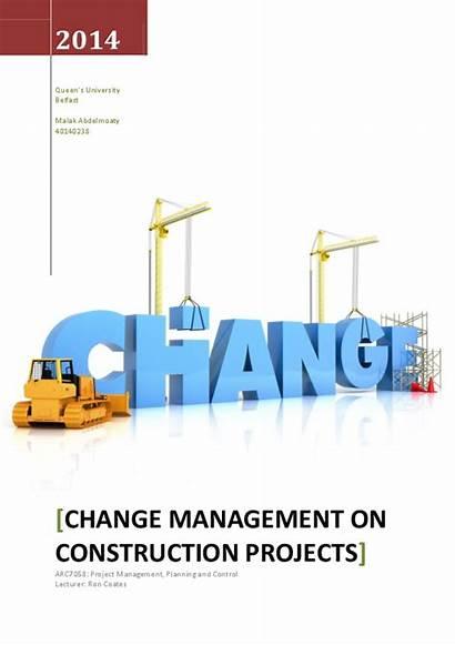 Change Management Construction Projects Malak Sabry Academia