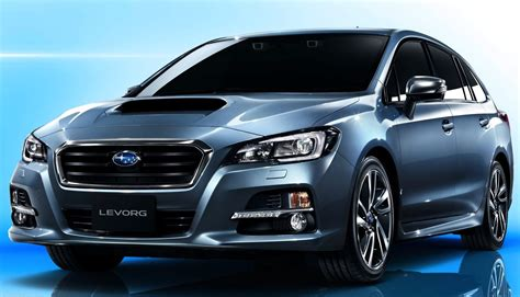Subaru Levorg On Target List For Australia Photos 1 Of 5