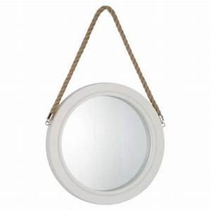 Miroir Rond Corde : 85 best miroirs images on pinterest ~ Teatrodelosmanantiales.com Idées de Décoration