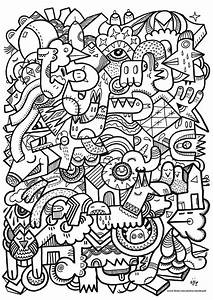 Free Coloring Page U00abcoloring Adult Difficult Art