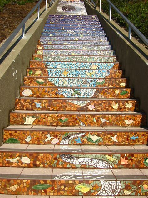 16th Avenue Tiled Steps Project by 16th Avenue Tiled Step Project