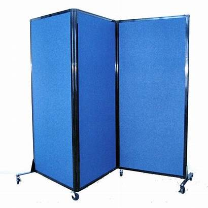 Divider Folding Mobile Portable Afford Fabric Partitions