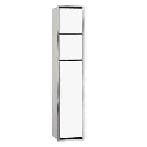 emco asis unterputz wc modul optiwhite chrom 975027850 emero de