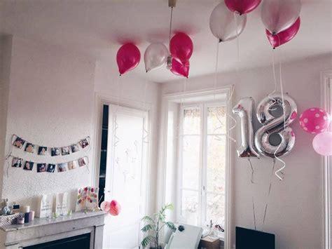 idee deco anniversaire  ans fille