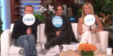 Johnny Depp, Gwyneth Paltrow And Paul Bettany Play 'never