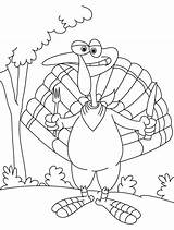 Coloring Turkey Knife Fork Outline Pages Popular Library Clipart Line sketch template