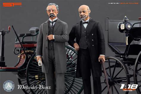 Pin Gottlieb Daimler Und Karl Benz Waren Maßgeblich An Der