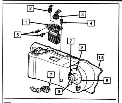 1992 Buick Regal Blower Motor Fuse Panel Diagram by Buick Lesabre Questions Blower Motor Works