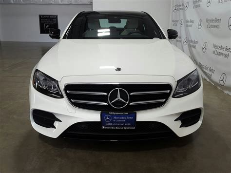 This is the manufacturer's recommended price for the vehicle, including optional. New 2019 Mercedes-Benz E-Class E 300 4MATIC® SEDAN in Lynnwood #290754 | Mercedes-Benz of Lynnwood