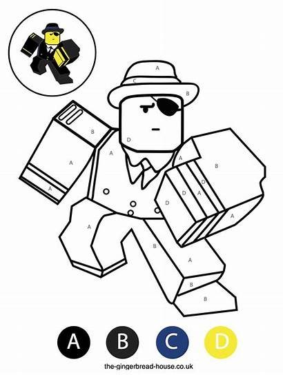 Roblox Colouring Sheets Colour Characters Gingerbread