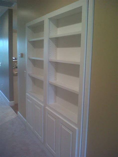 diy bookcase closet door mauk cabinets designed this bookcase to replace ugly bi