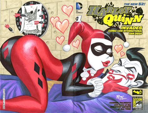 joker and harley quinn bruce timm sex porn pictures