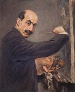 Berthe Morisot Museum: self portrait Max Liebermann