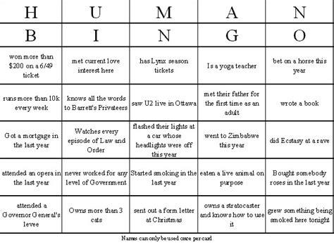 human bingo template 8 best images of bingo icebreaker worksheet bingo breaker bingo