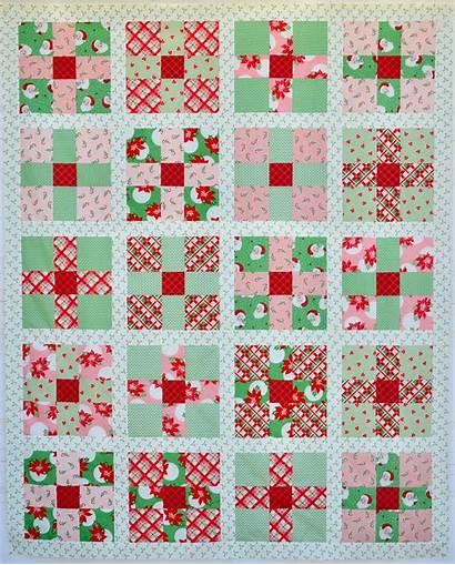 Quilt Christmas Swell Patch Pattern Uneven Patterns