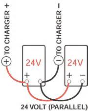 multi battery connections with batteryminder chargers