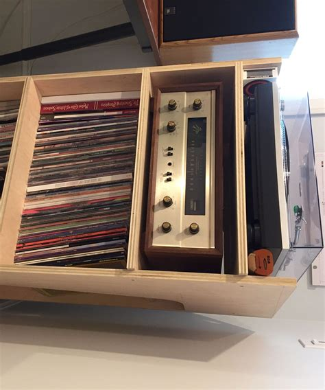Turntable and Record Stand : 8 Steps (with Pictures ...