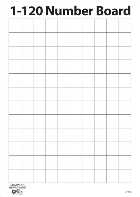 number  sided dry erase board  blank grid