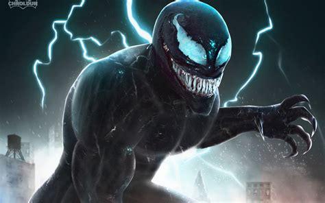 wallpaper venom fan art  creative graphics