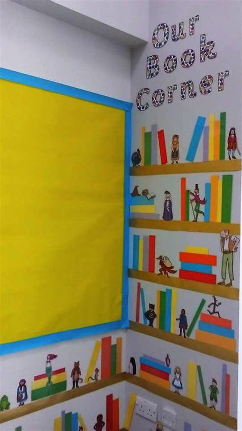 make a wonderful book corner using story cut outs from 180 | f3e9e1f17922d6c71f1057f01bddc77b