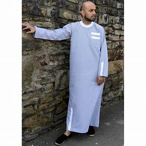 White Mens Jubba Thobe