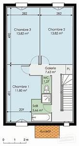 maison a etage detail du plan de maison a etage faire With plan maison demi etage 3 plan de maison contemporaine exemple de maison moderne