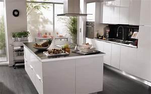 amnagement de cuisine ouverte cuisine ouverte sur salon With amenagement cuisine ouverte