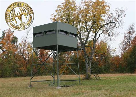 deer blinds  sale elevated deer blinds texas wildlife supply