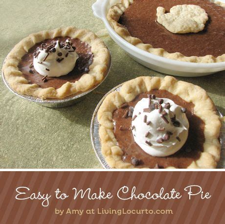 chocolate pie recipe easy fast easy chocolate pie thanksgiving pie recipes and candy bars