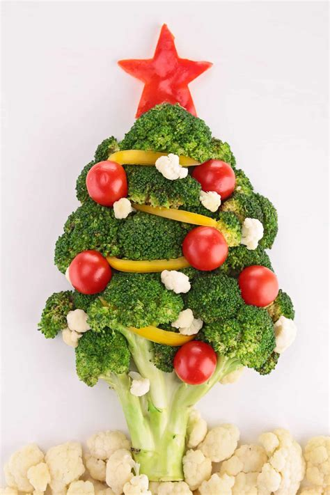 Fruits and vegetables contain many vitamins and minerals that are good for your health. 7 Fun Christmas Food Art Ideas for Kids