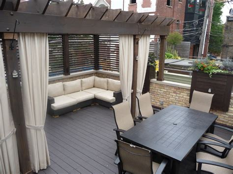 chicago roof decks landscaping traditional deck other metro by chicago roof deck garden