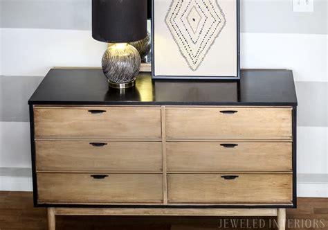 century modern dresser diy diy tutorial two toned rustic mid century modern Mid