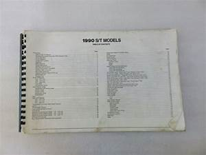 1990 Chevrolet Trucks S  T Models Electrical Diagnosis