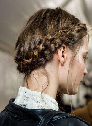 side braid  braided crown