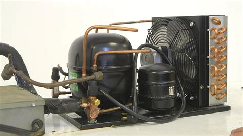 how to install a condensing unit with danfoss