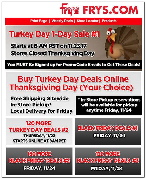 86198 Frys Promo Code Black Friday by Fry S Electronics Black Friday Ads Sales Doorbusters