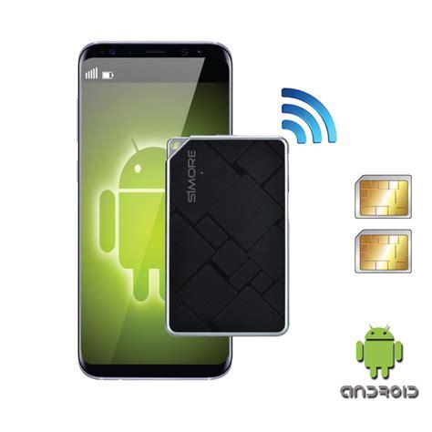 bluetooth dual sim karten adapter android mit
