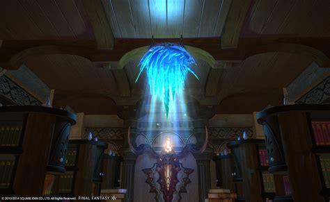 eorzea  ice chandelier final fantasy xiv