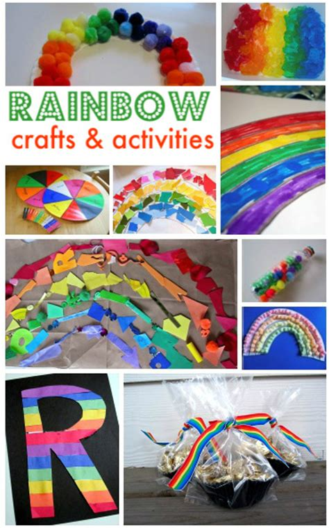 rainbow crafts for no time for flash cards 951 | rainbow crafts for preschoolers and toddlers