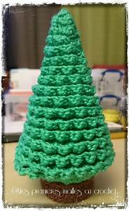 Tuto Sapin De Noel Au Crochet : sapin de no l mes premi res mailles au crochet ~ Farleysfitness.com Idées de Décoration