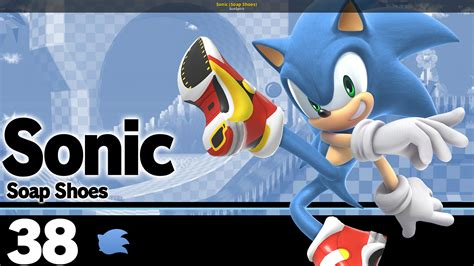 Sonic (Soap Shoes) [Super Smash Bros. Ultimate] [Skin Mods]