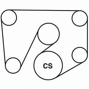 Cadillac Cts Belt Routing Diagram From Best Value Auto Parts