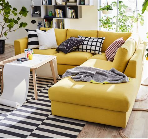 Yellow Sofa Ikea Knopparp Ikea 2 Seater Yellow Couch With