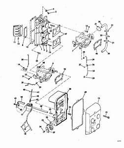 Johnson Intake Manifold Parts For 1975 85hp 85esl75e