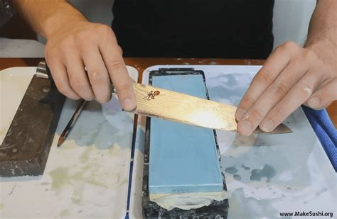 how to sharpen a knife how to sharpen sushi knives make sushi