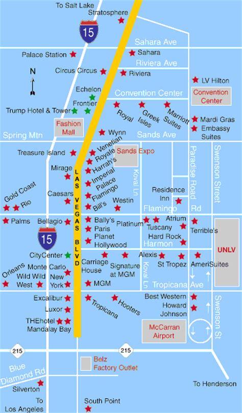 las vegas hotels map gif
