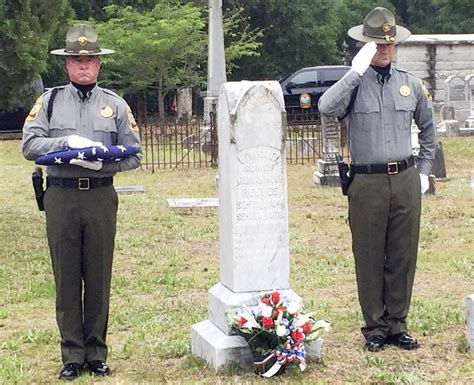 Family, Scdnr Honor Game Warden Killed In Line Of Duty