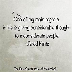 Inconsiderate Friends Quotes. QuotesGram