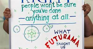 oneupweb marketing tip of the week what futurama taught With whiteboard lettering